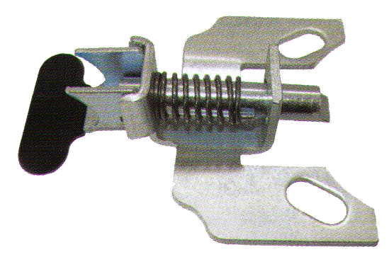 "Position Lock Brake; Steel; Foot activated; Bolt-on style; Works with most 4""x4-1/2"" notched caster plates.  Not for Pneumatic or Flat-free wheels. (88865)"
