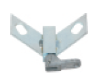 "Toggle style position lock for a 2"" wide swivel caster (#88487)"