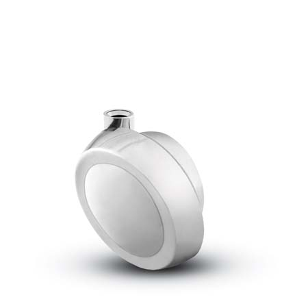 Bright Chrome Stemless Ball Caster.