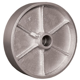 Wheel; 8 x 2-1/2; Cast Iron; Plain bore; 1800#; 1-15/16 Bore; 2-3/4 Hub Length (89470)