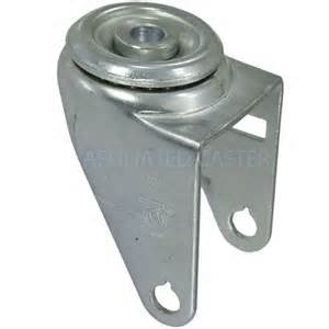 Swivel Caster Yoke with hollow kingpin.