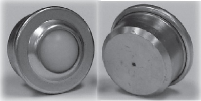 Nylon Ball Transfer with a Round Stem connector
