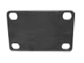 Bolt-on Pad for a Top Plate caster. (#88527)